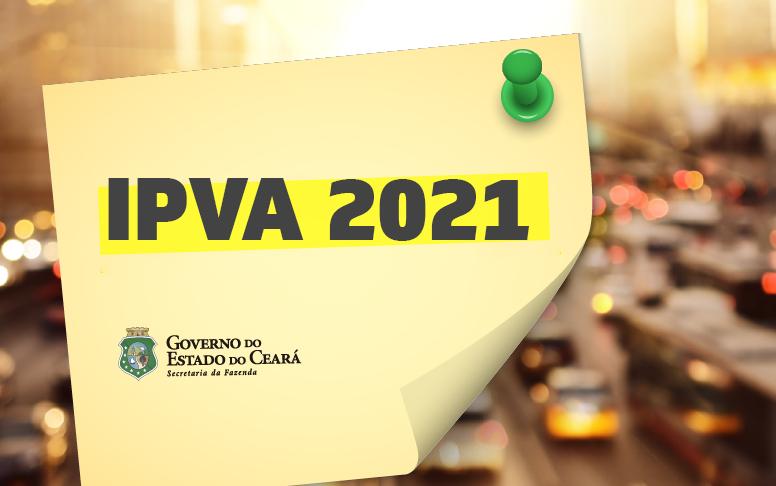 Clique aqui para gerar o DAE do IPVA 2021
